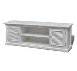 Tv meubel Wit Hout  121 x 30,5 x 41,7 cm