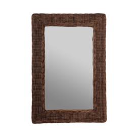 Spiegel rotan klein