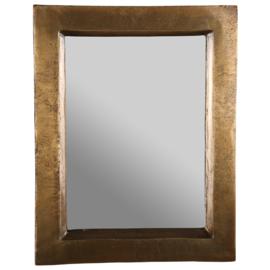 Spiegel  Vintage Brons 35 x 5 x 45 cm