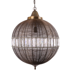 Hanglamp  groot brons