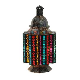 Tafellamp Orientaals Zwart ø 26 cm