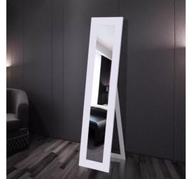 Vrijstaande Spiegel Wit 150 x 36 x 39 cm