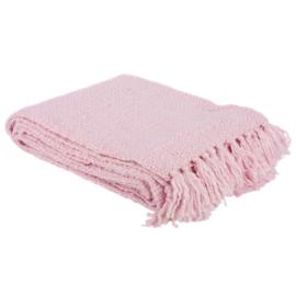 Plaid roze 130x170cm