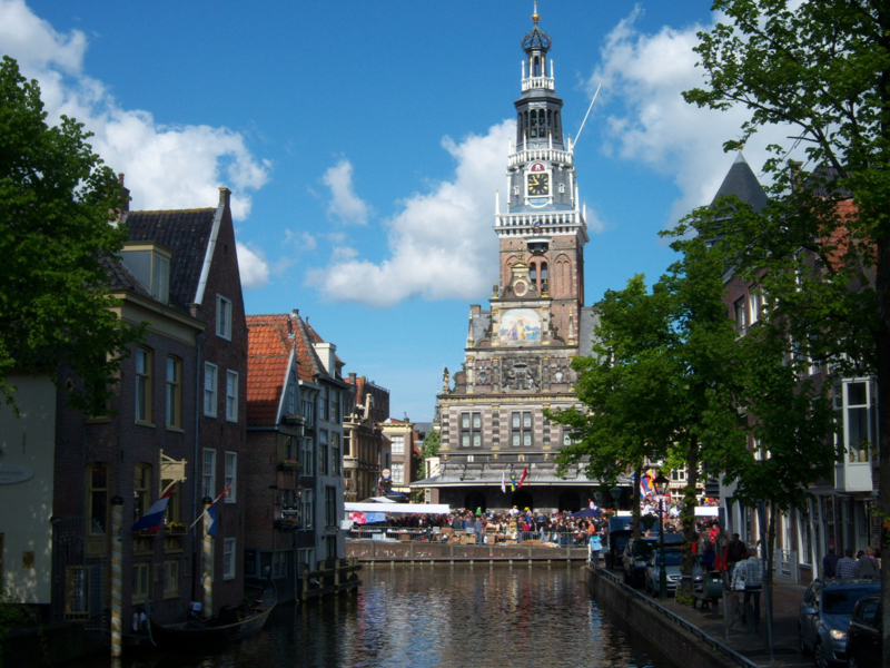 Rondleiding Alkmaar met gids Hans Pleging!