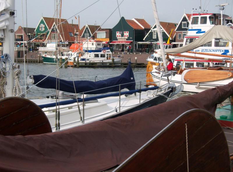 Rondleiding Volendam - Marken met Hans Pleging!