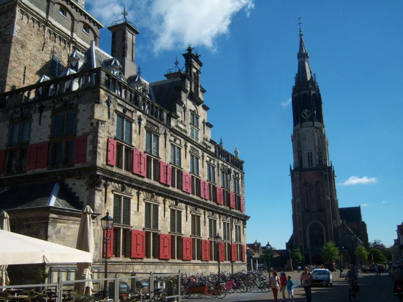 Stadswandeling Delft met gids Hans Pleging!