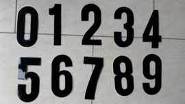 MX Number vintage-style.