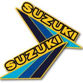 83 SUZUKI RM Tank stikkers.