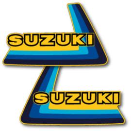 79 SUZUKI RM Tank stikkers.