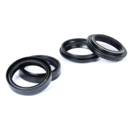 01-12 HUSABERG all models Frontfork oil+dust  seal kit.