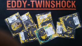 87-88 SUZUKI RM125 Topend pakking set.