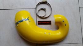 89-90 SUZUKI RM250 Uitlaat beschermer Kevlar.