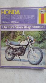 73-78 HONDA CR250 Haynes onderhoudsboek.