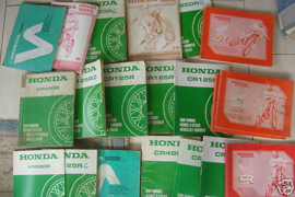 79 HONDA XR500 Onderdelen katalogus origineel.