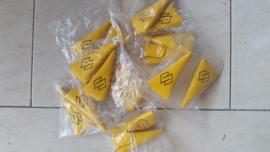 SUZUKI RM hendel hoesjes geel.
