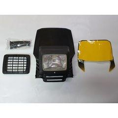 Stilmotor Lamp V1 zwart.