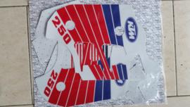 90 KTM 250 500 Radiator+Tank stikkers.