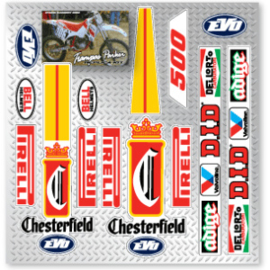 KTM Stikker set Chesterfield.
