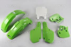 89 KAWASAKI KX250 +89- 92 KX500 Komplete plastik kit.