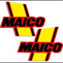 77-78 MAICO Tank stikkers.