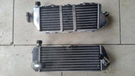 86-99 SUZUKI RM125 RM250 Radiator set.