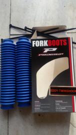 MX Frontfork boots bleu 35-38 length:35 Progrip.