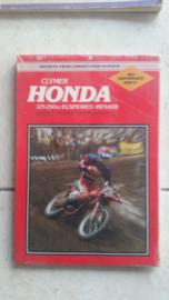 73-78 HONDA CR125 CR250 Clymer handboek.