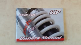 WP Rearshock 5018 PDS Owners manual.