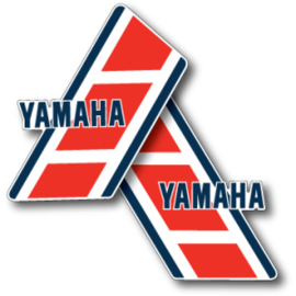 84 YAMAHA YZ Tank stikkers.