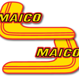 81 MAICO Tank stikkers.