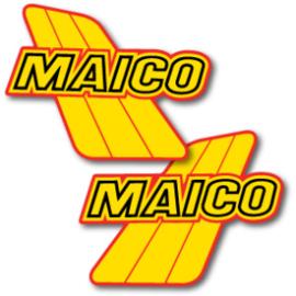 84 MAICO Tank stikkers.
