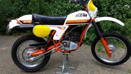 79 KTM 125GS.SOLD