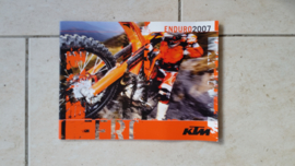 07 KTM Enduro brochure.