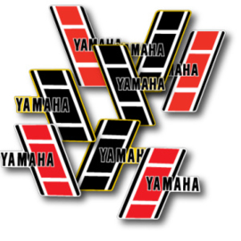 83 YAMAHA YZ Tank stikkers.