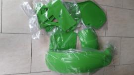 85 KAWASAKI KX250 KX500 Komplete plastik kit.
