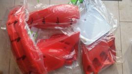 90 HONDA CR125 Komplete plastik kit.