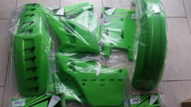91 KAWASAKI KX125 Komplete plastik kit.