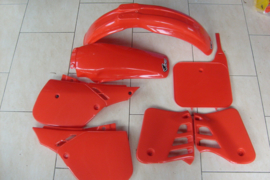 87 HONDA CR125 Komplete plastik kit.