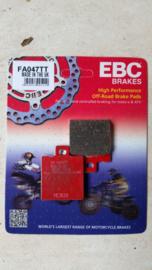 85-86 KTM Remblokken voor.