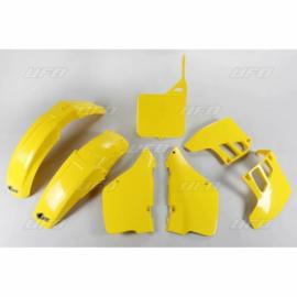 89-91 SUZUKI RM125 Komplete plastik kit.
