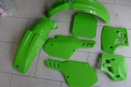 88 KAWASAKI KX250 KX500 Komplete plastik kit.