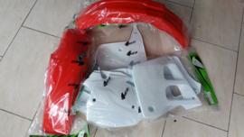 91 HONDA CR125 Komplete plastik kit.