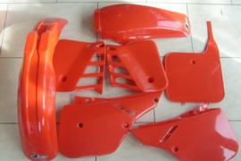 87 HONDA CR250 Komplete plastik kit.