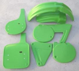 80-81 KAWASAKI KX Komplete plastik kit.