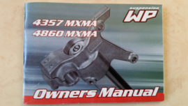 WP Frontfork 4357 4860 MXMA Owners manual.