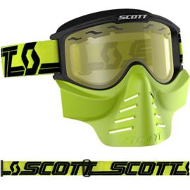SCOTT MX Bril + Masker geel.