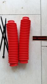 MX Frontfork boots red 35-38 length:35 Progrip.