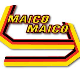 80 MAICO Tank stikkers.