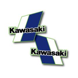 82 KAWASAKI KX Tank stikkers.