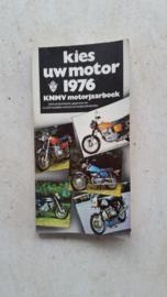 Kies uw motor 1976.KNMV motorjaarboek.